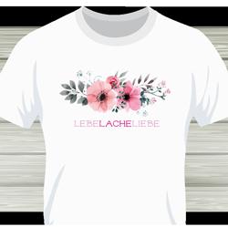Blumenranke + Text