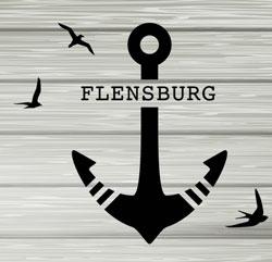 Flensburg, Anker, Möwen