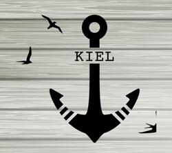 Kiel, Anker, Möwen